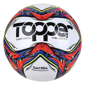 Bola de Futebol Campo Topper  Samba Velocity Pro