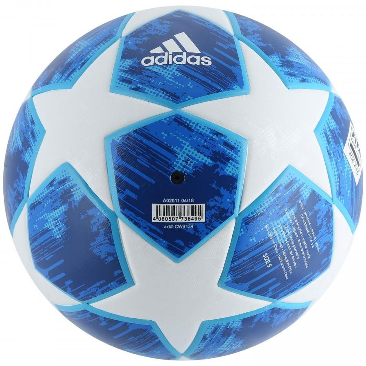 ... Bola de Futebol Campo Uefa Champions League Adidas Finale 18 Top  Training 63111edf6be9d