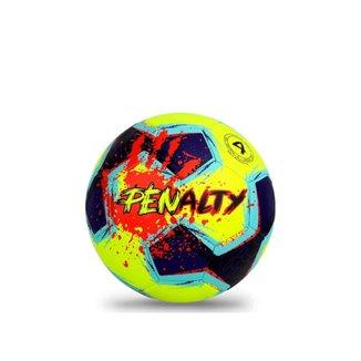 Bola de Futebol de Campo Penalty Giz N4 XXI Amarelo/Azul