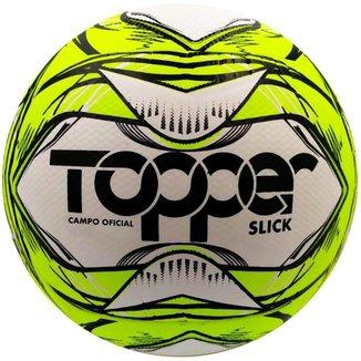 Bola de Futebol de Campo Slick Tecnofusion Oficial Topper 2020