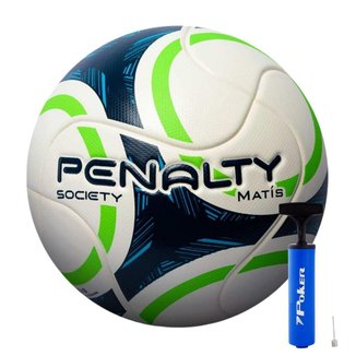 Bola de Futebol Society Penalty Matis IX Com Bomba