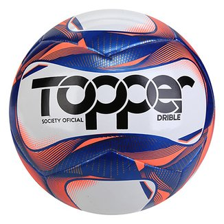 Bola de Futebol Society Topper Drible 2019 Exclusiva