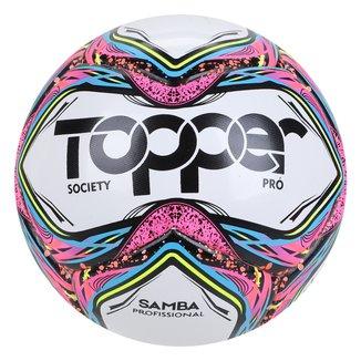 Bola de Futebol Society Topper Samba Pro