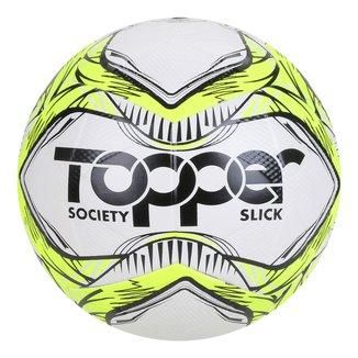 Bola de Futebol Society Topper Slick 2020