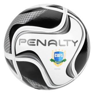 Bola de Futsal Penalty Max 100 All Black - Edição Limitada