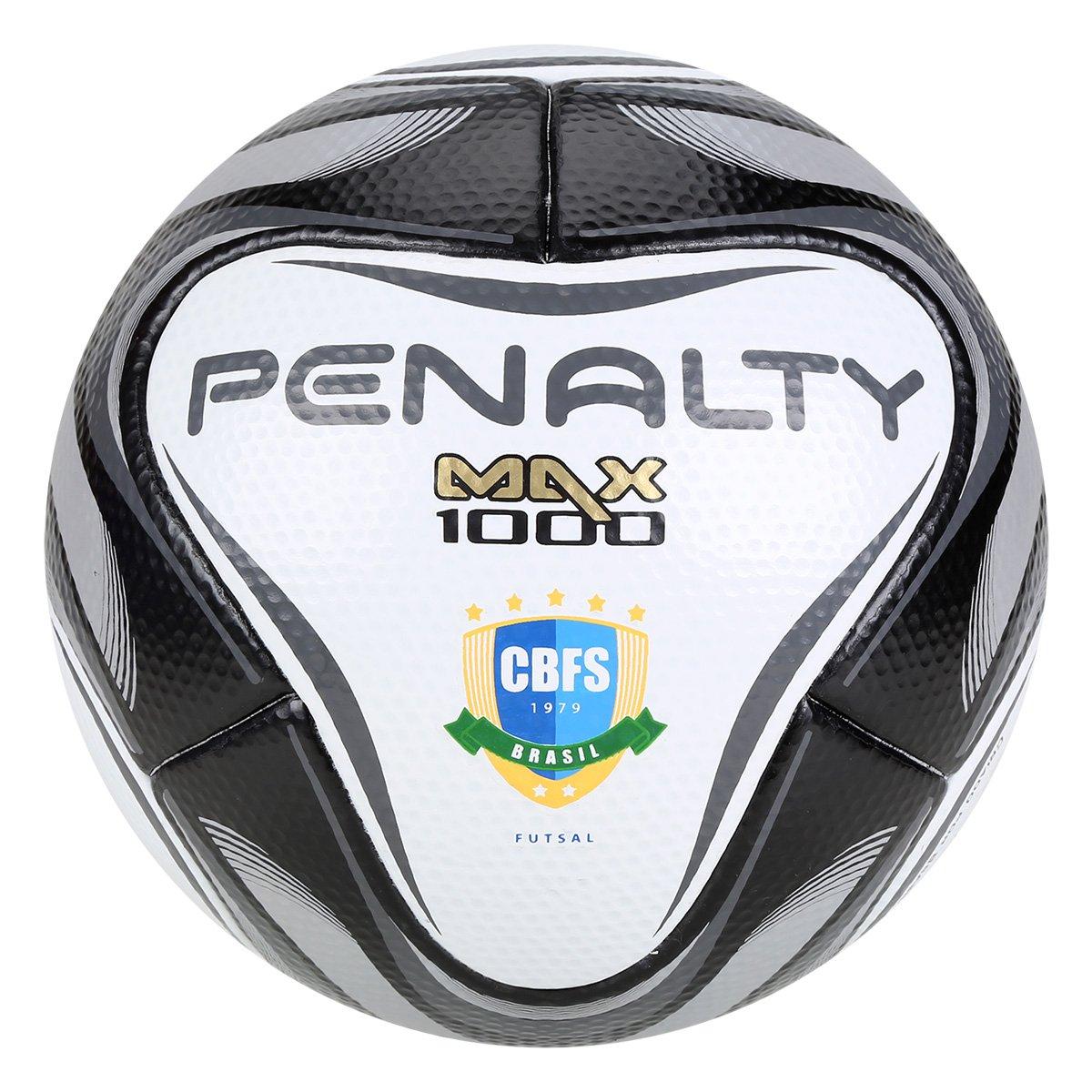 e8db417ad5 Bola de Futsal Penalty Max 1000 All Black - Edição Limitada - Compre ...