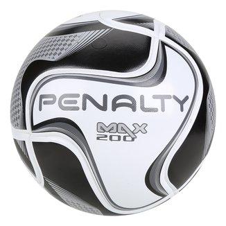 Bola de Futsal Penalty Max 200 All Black - Edição Limitada