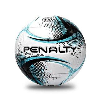 Bola de Futsal Penalty RX 50 XXI - Branca e Azul