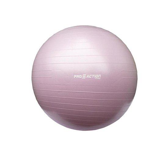 Bola de Ginástica 65 cm Gym Ball Proaction - Rosa