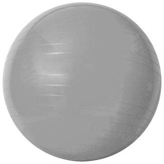 Bola de Ginástica Acte Sports com bomba de Ar 55cm - Prata