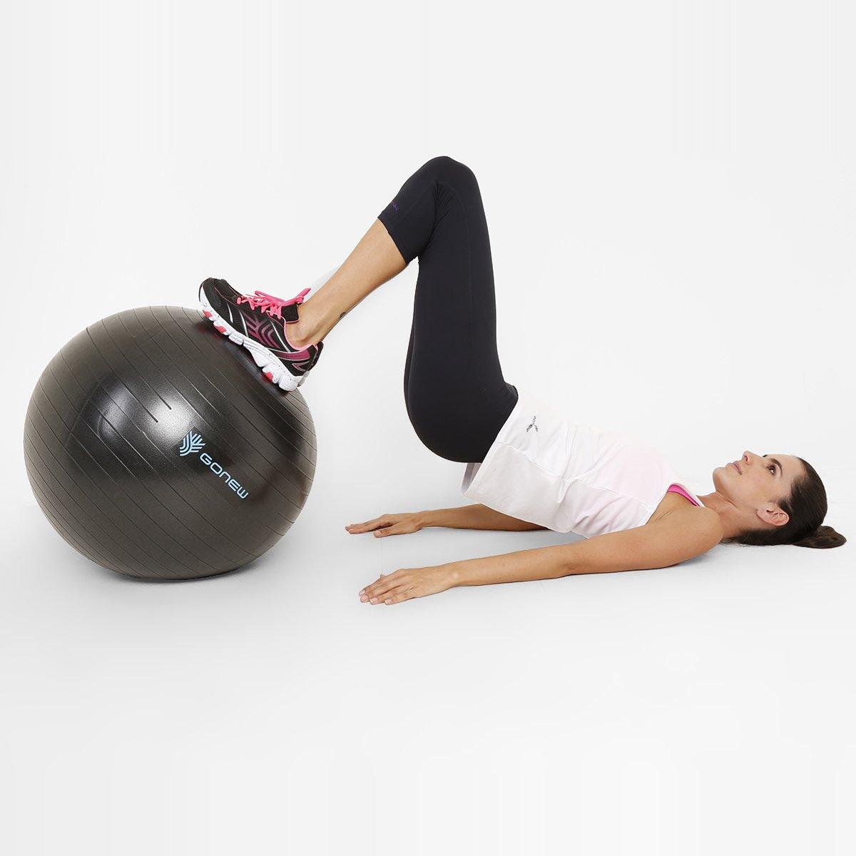 Bola de Ginástica e Pilates GONEW 65 cm - Compre Agora  0253cdf025793