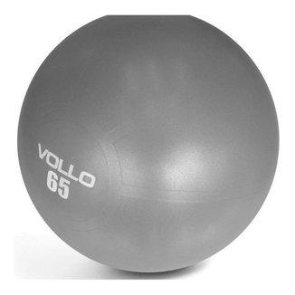Bola De Ginástica Gym Ball Cinza  65cm - Academia - Vollo