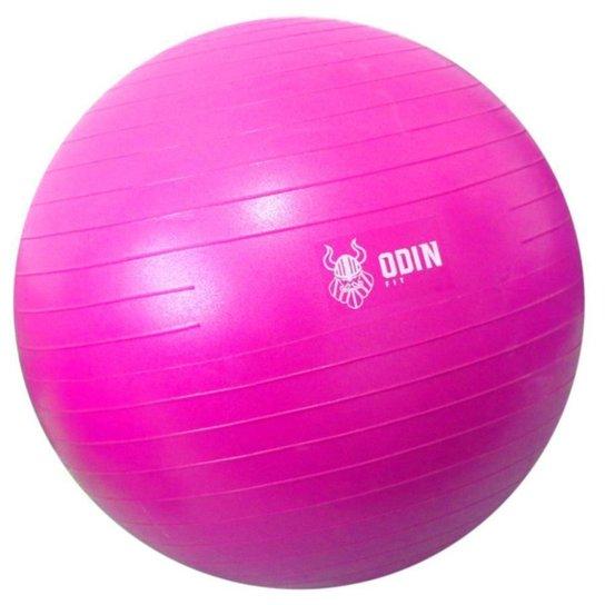 Bola de Ginástica Suíça Yoga Pilates 55cm Odin Fit - Rosa
