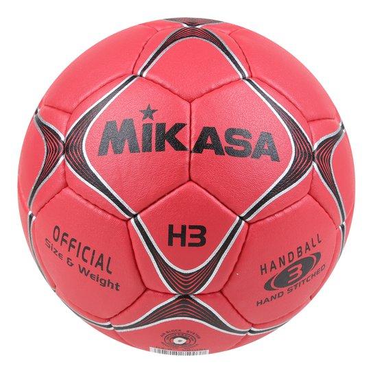 Bola de Handball Mikasa Modelo H3-R - Vermelho