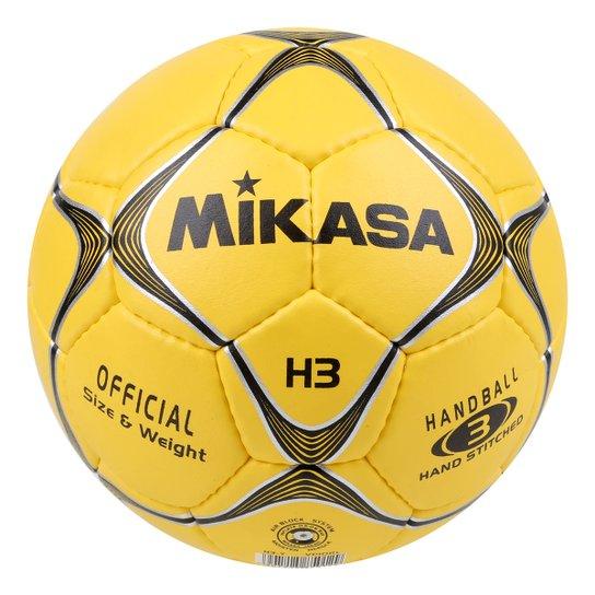 Bola de Handball Mikasa Modelo H3-Y - Amarelo