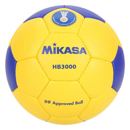 Bola De Handball Mikasa Modelo HB 3000 - Azul+amarelo