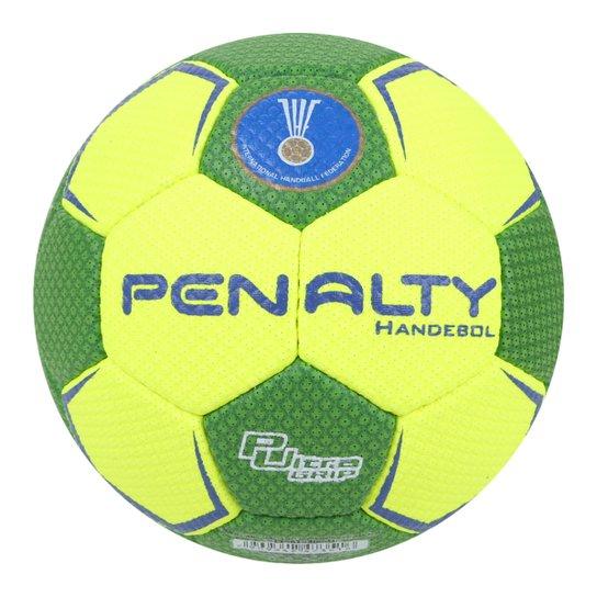 Bola de Handebol Penalty Suécia H2L Ultra Grip X - Verde+Amarelo