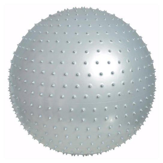 Bola De Massagem Para Pilates 65 Cm Liveup - Cinza