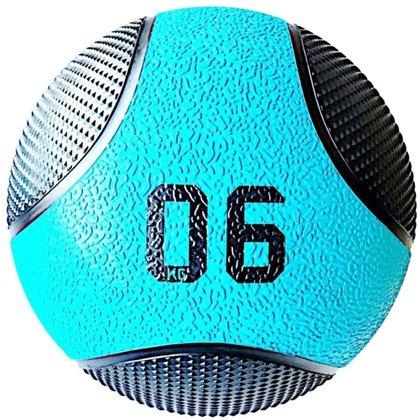 Bola De Peso Medicine Ball 6 Kg Liveup Pro D Lp8110-06