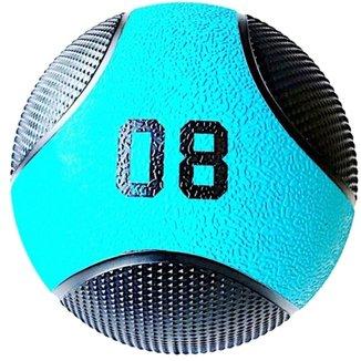Bola De Peso Medicine Ball 8 Kg Liveup Pro E Lp8110-08