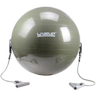 Bola de Pilates LiveUP com Extensores