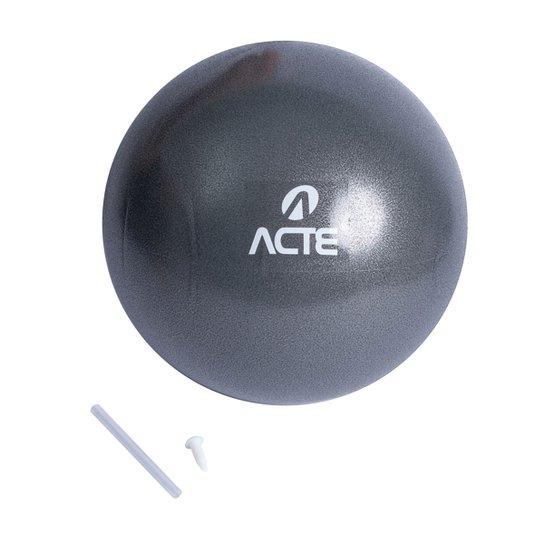Bola de Pilates Overball Acte Sports 25 cm - Cinza