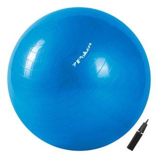 Bola de Pilates Suiça Gym Ball com Bomba de Ar  55cm