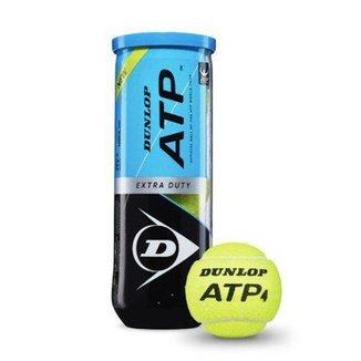 Bola de Tênis ATP Tubo c/ 03 Bolas - Dunlop
