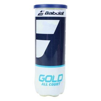 Bola de Tênis Babolat Gold All Court X3 Tubo c/ 3 Bolas