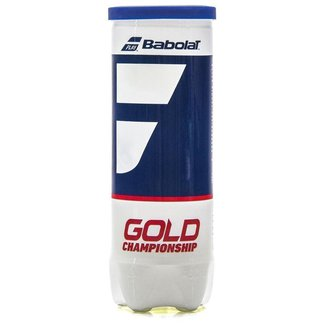 Bola de Tênis Babolat Gold Championship Tudo c/ 3 Bolas