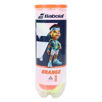 Bola de Tênis Babolat Orange X3 Stage 2 Tudbo c/ 3 Bolas