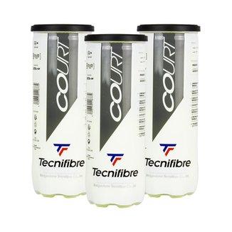 Bola de Tênis Court Pack c/ 03 Tubos - Tecnifibre