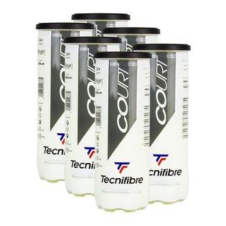 Bola de Tênis Court Pack c/ 6 Tubos - Tecnifibre