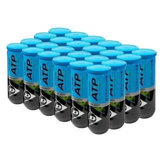 Bola de Tênis Dunlop ATP Extra Duty - Caixa com 24 tubos