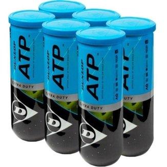 Bola de Tênis Dunlop ATP Extra Duty - Pack com 6 tubos