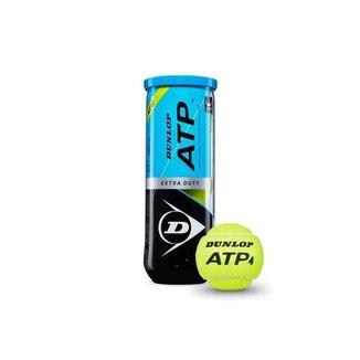 Bola de Tênis Dunlop ATP Tubo Com 3 Bolas