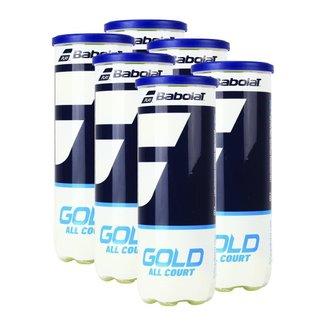 Bola de Tênis Gold Pack C/ 06 Tubos - Babolat