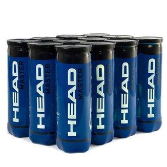 Bola de Tênis Head Master Pack com 12 tubos