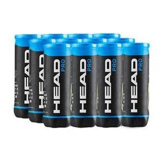 Bola de Tênis Head Pro - Pack com 12 tubos