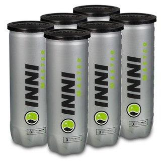Bola de Tênis Inni Master  Pack com 6 Tubos