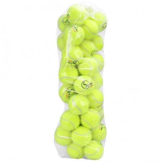 Bola de Tênis Spin - Pacote com 40 bolas - Única