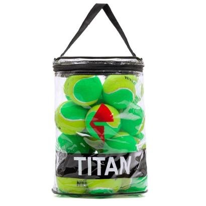Bola de Tênis Titan Kids Stagy 1 Pack c/ 24 Bolas