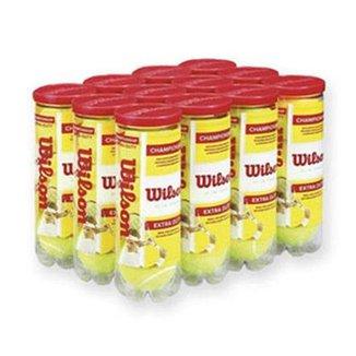 Bola de Tênis Wilson Championship - Pack com 12 tubos