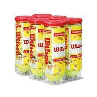 Bola de Tênis Wilson Championship - Pack com 6 tubos