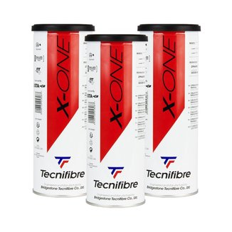 Bola de Tênis X-One Lata Pack c/ 3 Tubos - Tecnifibre