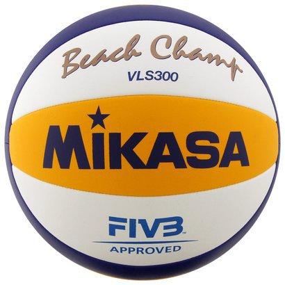 Bola de Vôlei de Praia Mikasa VLS300 FIVB Oficial de Jogo