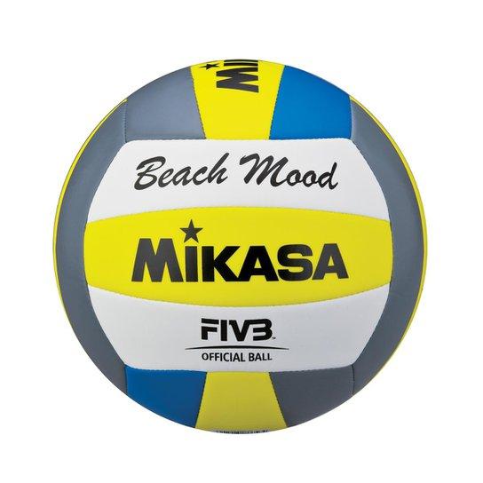 Bola de Vôlei de Praia VXS-BMD-G2 Padrão FIVB Mikasa - Cinza