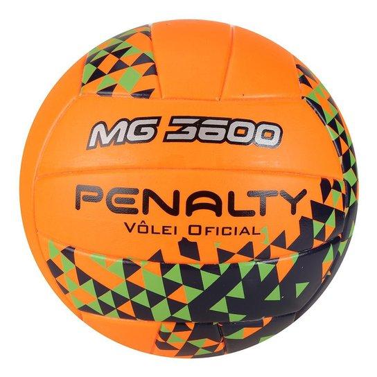 Bola de Vôlei Penalty MG 3600 Fusion VIII - Laranja+Verde