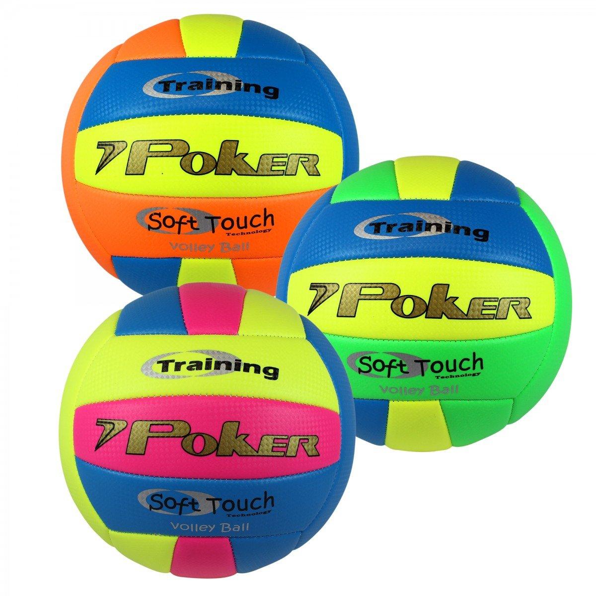 Bola de Vôlei Poker Training Neon - Colorido - Compre ...
