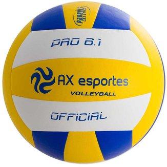 Bola de Vôlei Pro 6.1 AX Esportes em Microfibra Matrizada